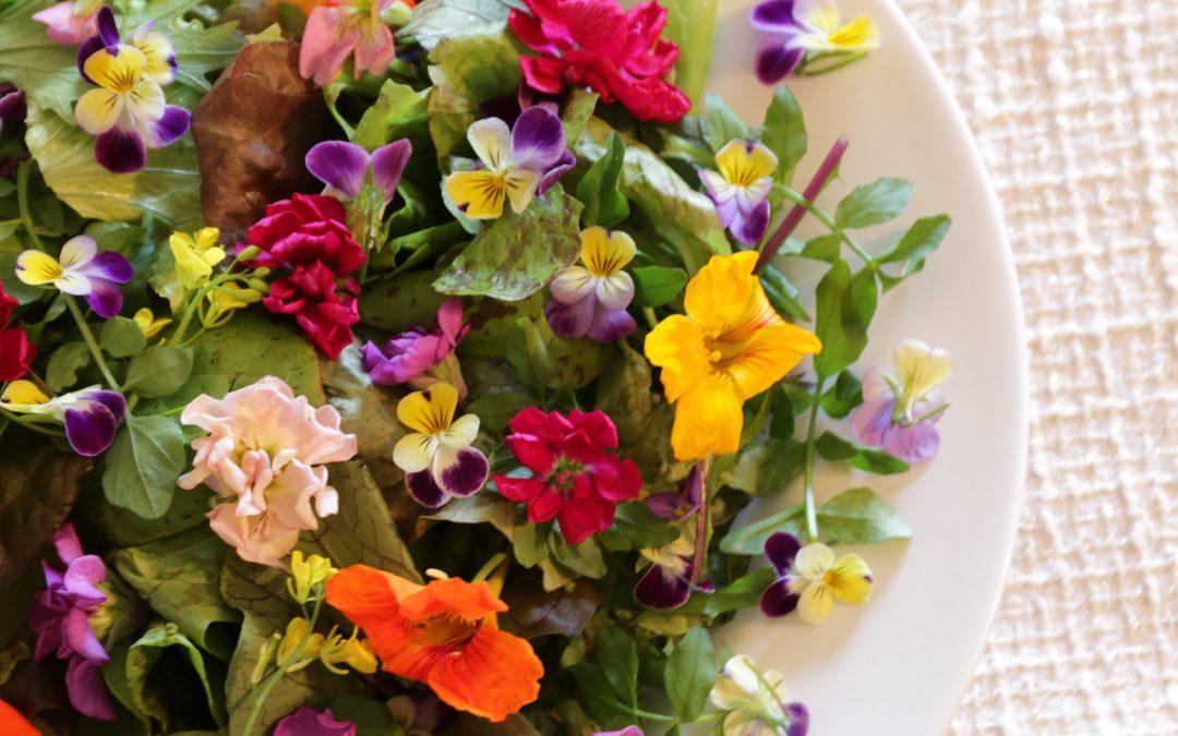 Hidden Acre Flower Salad